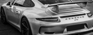 Porsche Heck