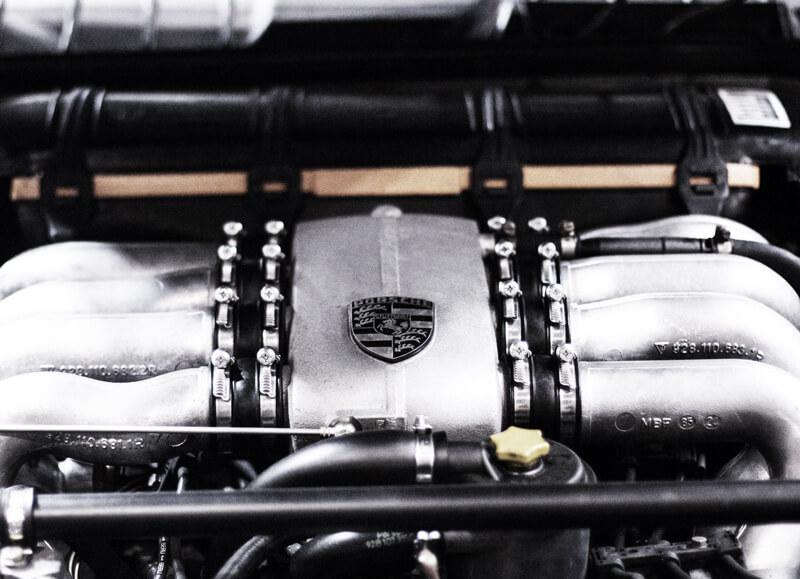 Porsche Motorblock