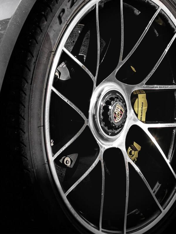 Detail Porsche Rad